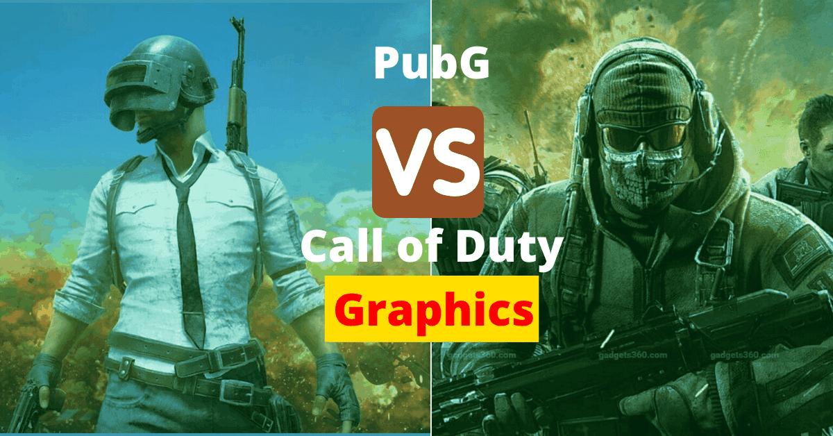 pubg vs call of duty graphics