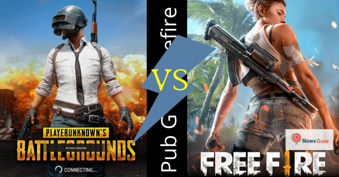pubg vs freefire