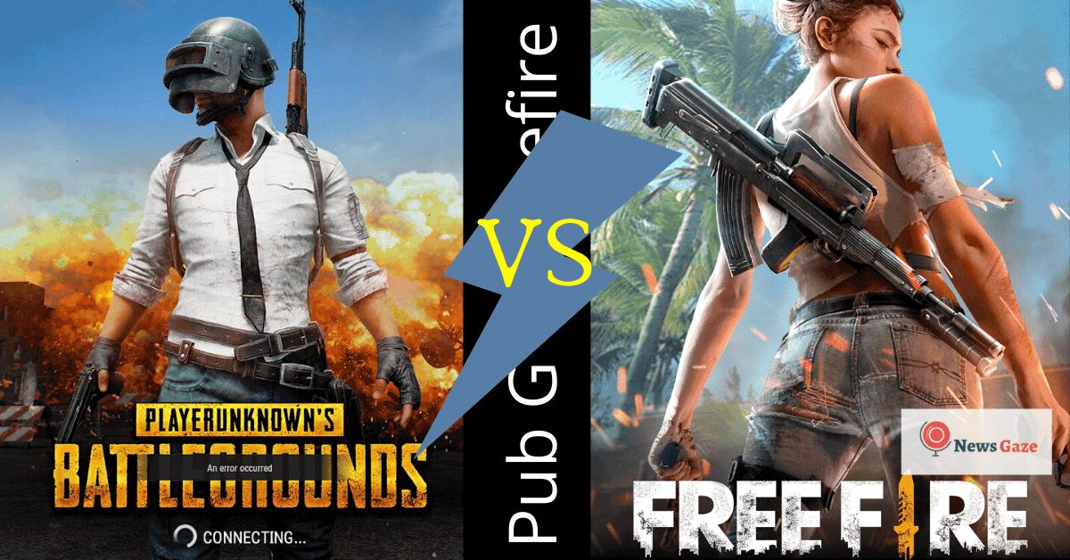 pubg vs freefire