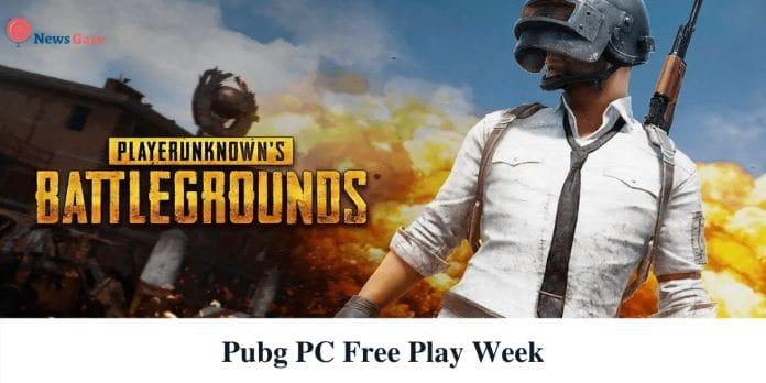 Pubg Pc Free Play Week